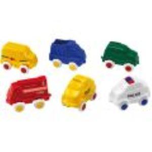 Viking Toys Seau de 15 véhicules