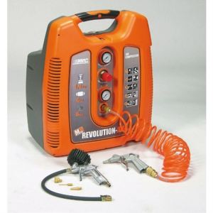 Mecafer 425020 - Compresseur Squirrel RevolutionAir 6L 1.5HP