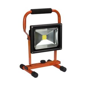 Perel PROJECTEUR DE CHANTIER RECHARGEABLE LED 20 W 6500 K EWL312CW-R