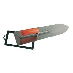 Mondelin Platoir chap inox 55x12/9 mont aluminium poignée ouverte,