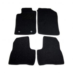 VidaXL Ensemble de tapis de voiture 4 pcs pour Peugeot 206 SW