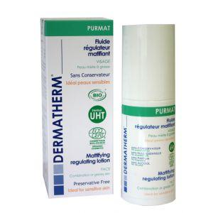 Dermatherm PURMAT Fluide Régulateur Matifiant 50ml