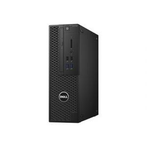 Dell Precision Tower 3420 - SFF - 1 x Core i5 7500 / 3.4 GHz - RAM 8 Go - HDD 1 To - graveur de DVD - HD Graphics 630 - GigE - Win 10 Pro 64 bits - technologie Intel vPro - moniteur : aucun - BTP