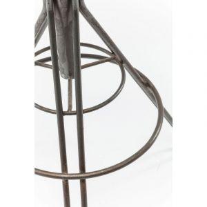 Kare Design Tabouret de bar bois et acier WILD