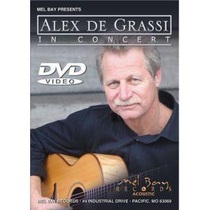 Import MEL BAY DE GRASSI ALEX - ALEX DE GRASSI IN CONCERT - GUITAR