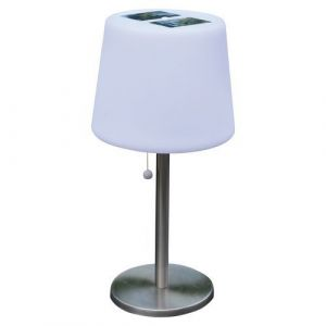 Mundus Lampe solaire de table Mora 3 LED blanche - 100 lm - AIC International,