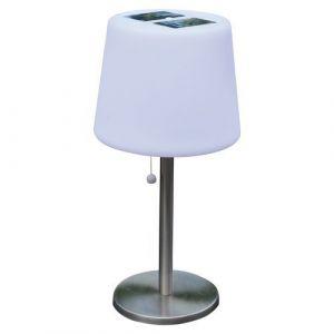 Mundus Lampe solaire de table Mora 3 LED blanche - 100 lm - AIC International,