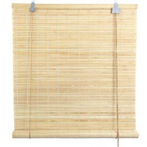 rideaux bambou naturel comparer 101 offres. Black Bedroom Furniture Sets. Home Design Ideas