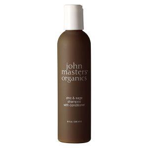 John Masters Organics Shampoing 2 en 1 au zinc et sauge pour cheveux gras