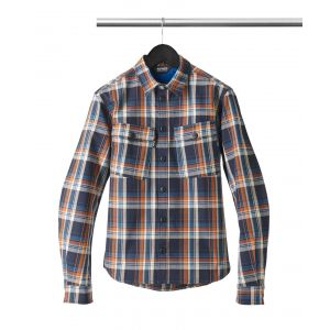Spidi Chemise ORIGINALS bleu/orange - 3XL