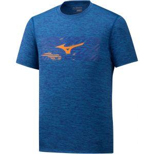 Mizuno Impulse Core T-shirt Homme, mazzarine blue S T-shirts course à pied