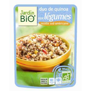 Jardin Bio Duo de quinoa aux légumes (100g)