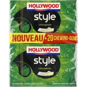 Hollywood style menthe verte