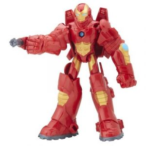 Image de Hasbro Figurine Avengers deluxe Iron Man et son armure 15 cm