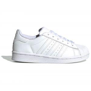 Adidas Baskets Superstar Blanc - Taille 28;29;30;31;32;33;34;35