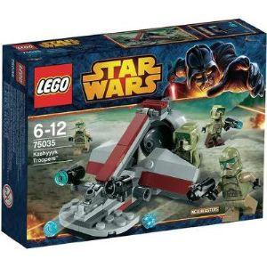 Lego 75035 - Star Wars : Kashyyyk Troopers