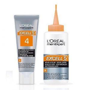 L'Oréal Men Expert Excell 5 - Gel-crème colorant châtain profond naturel