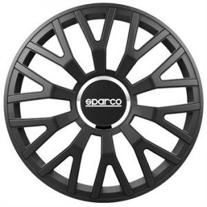 sparco 4 enjoliveurs noir Leggera Pro 16 pouces