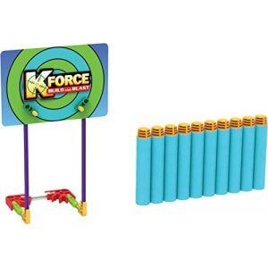 K'Nex K Force 10 Fléchettes + Cible