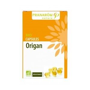 Pranarôm Origan Bio - Résistance 30 capsules d'huile essentielle