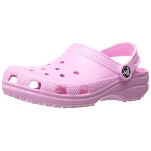 Crocs Classic Clog Kids, Mixte Enfant Sabots, Rose (Carnation), 34-35 EU