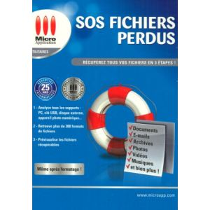 SOS Fichiers Perdus [Windows]
