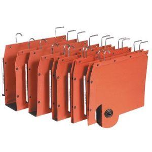 L'Oblique AZ Paquet de 25 dossiers suspendus Tub pour armoire kraft (dos : 30 mm)