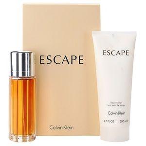 Calvin Klein Escape - Coffret eau de parfum et lait pour le corps