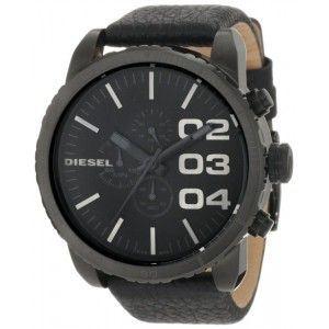 Diesel DZ421 - Montre pour homme bracelet en cuir