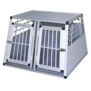 Kerbl 82393 - Caisse de coffre en aluminium 2 portes