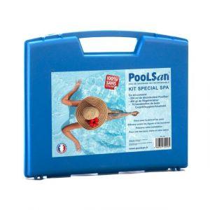 Poolsan Kit d'entretien complet spécial spas 100% sans chlore - Produit Bio Responsable