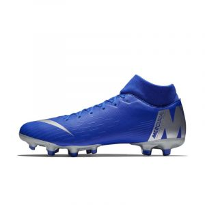 Nike Chaussure de football multi-terrainsà crampons Mercurial Superfly 6 Academy MG - Bleu - Taille 45 - Unisex