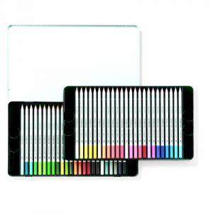 Staedtler Karat 125 M48 Crayons de couleur aquarellables Boîte métal de 48 pièces (Import Royaume Uni)