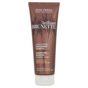 John Frieda Brillante brunette shampooing sublimateur d'éclat   nutrition intense chocolat à espresso