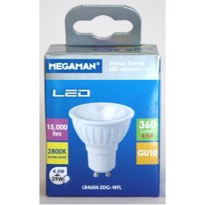 Megaman SPOT LED GU10 4,5W 360LM 35°2.8