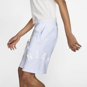 Nike Short en molleton Sportswear pour Homme - Bleu - Taille L - Male