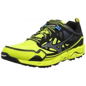 Mizuno Wave Daichi 4 Chaussures de Trail Homme, Jaune (Bolt/Dark Shadow/Black 51) 41 EU