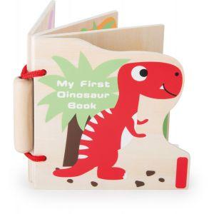 """Legler 10107 - Livre en bois """"Mes premiers dinosaures"""""""