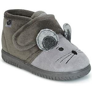 Victoria Bota Velcro Animales, Bottes et Bottines Souples Mixte Enfant, Gris (Gris 12), 27 EU