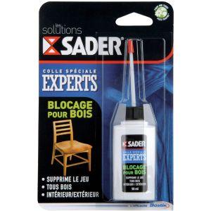 Sader Colle blocage pour bois 50 ml