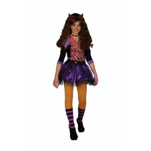 César Déguisement Clawdeen Wolf Monster High (10-12 ans)