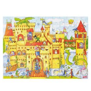 Goki 57617 - Puzzle Château fort 96 pièces