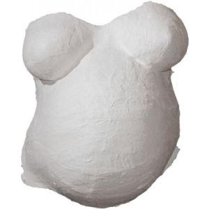 Bieco 641730 - Kit de moulage ventre bébé