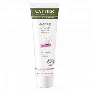 Cattier Masque Argile pour peaux sensibles