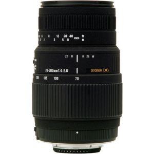 Sigma 509927 - Objectif 70-300mm f/4-5,6 DG Macro pour tous reflex Canon série EOS