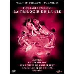 Coffret La Trilogie de la vie - Les 1001 Nuits + Les Contes de Canterbury + Le Decameron