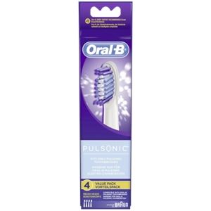 Oral-B 852544 Pulsonic - 4 brossettes supplémentaires