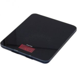 Salter 1150-BKDR - Balance de cuisine en verre noir