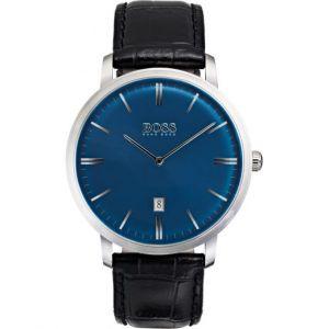 Hugo Boss 1513461 - Montre pour homme avec bracelet en cuir