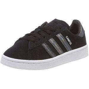 Adidas Campus C, Chaussures de Fitness Mixte Enfant, Noir (Negbas/Negbas/Negbas 000), 35 EU